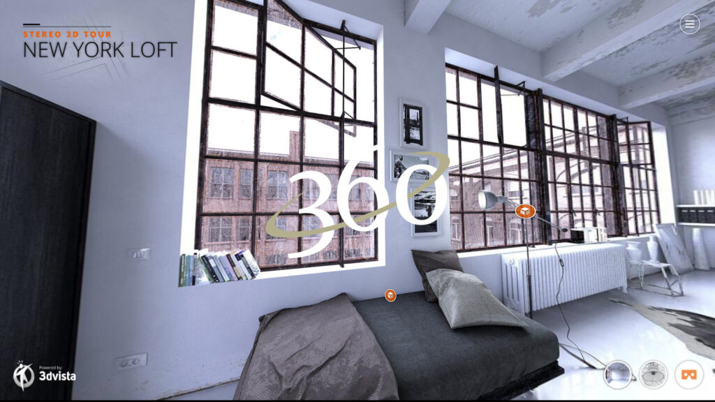 New York Loft Virtual Tour